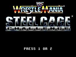 wwf steel cage challenge - sega master system