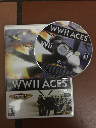 wwii aces. juego para wii