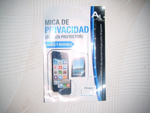 wwow mica de privacidad para alcatel c9 one touch pop!!!