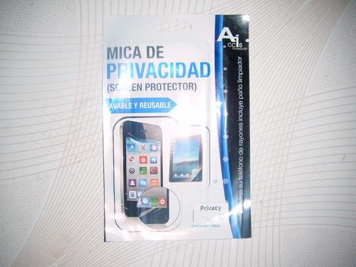 wwow mica de privacidad para lg joy!!!