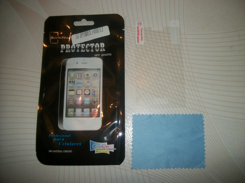 wwow mica protectora de pantalla lg optimus l3 excelentes!!!