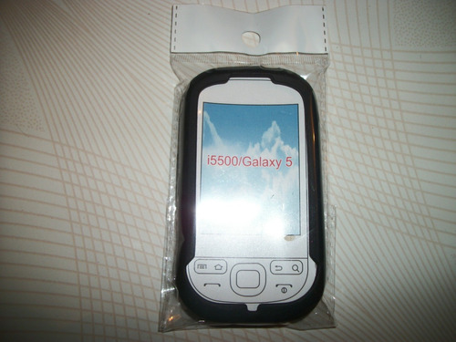 wwow silicon skin case samsung galaxy 5 i5500 excelentes!!!