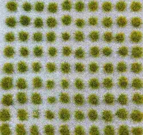 wws spring grass 4mm self-adhesivo static grass x 100 !