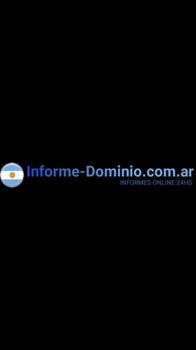 www.informe-dominio.com.ar  informe online 24hs