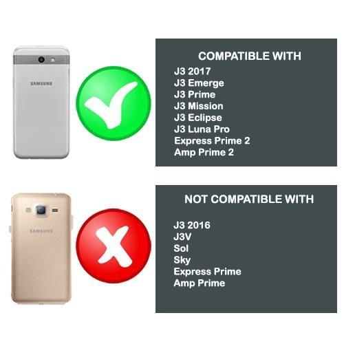 c2ef814163f Wydan Funda Para Samsung Galaxy J3 Emerge, J3 Prime, Express ...