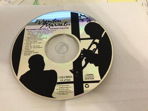 wynton marsalis standard time vol. 2 como nuevo!!!