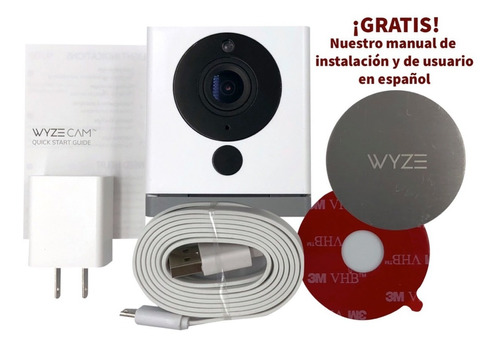 Wyze Cam V2 Wifi Mini Camara Seguridad Inalambrica Hd 32 Gb