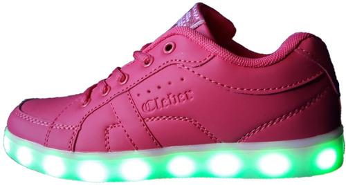 x 2 pares de zapatillas con luces unisex + envio incluido