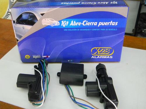 x-28 alarma x-28 z-10+cierre centralizado para 2 puertas