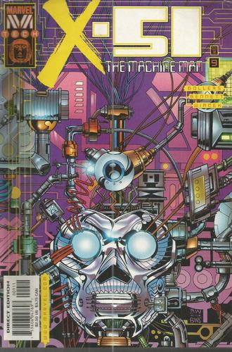 x-51 the machine man 09 - marvel - bonellihq cx75 g19