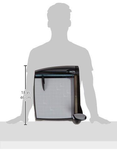 x-acto láser base plástico guillotina trimmer, 12 x 12
