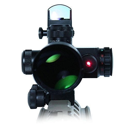 x-aegis nuevo estilo 2.5-10x40 táctico rifle scope con lá...