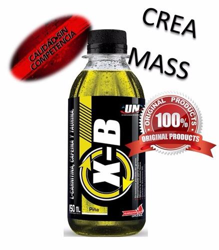 x-burn - poderoso termogenico energy drink - el original