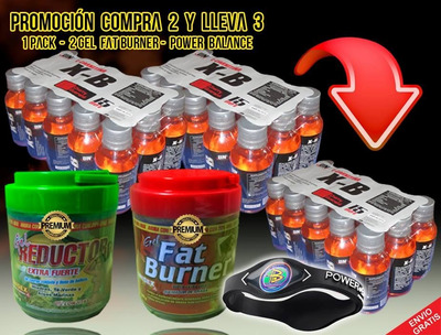 x burn quemagrasa energy drink + 13unidades  gratis