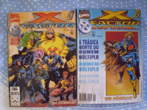 x factor especial! vários! r$ 10,00 cada! ed. abril 1996!