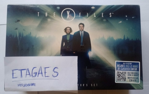 x files archivos secretos x serie clasica completa bluray