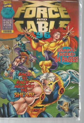 x force & cable 1996 - marvel -  bonellihq cx446 h18