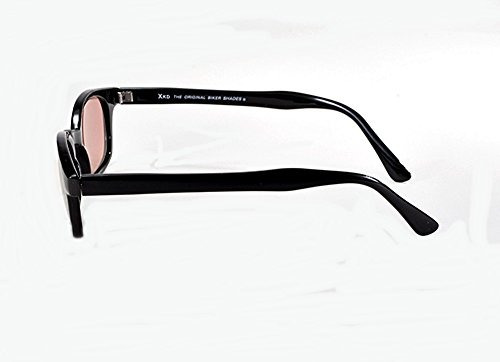 b14ef404d9 X Kd Sunglasses Rose Colored Tint Glasses Biker Shades Large ...