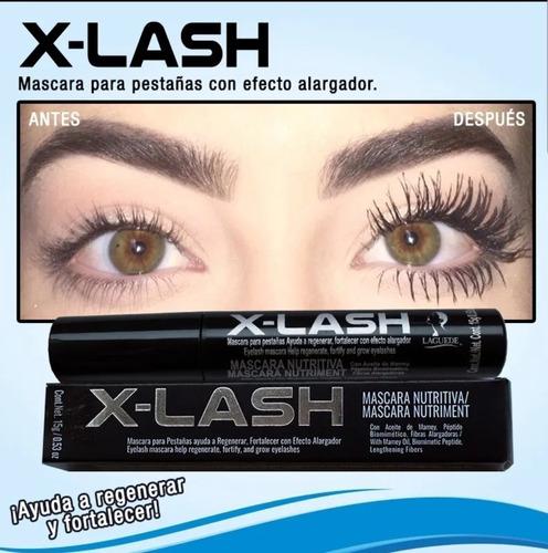 x-lash máscara de pestañas,laguede, waterproof