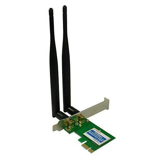 x-media 300mbps wireless pci express (pcie) adaptador / t