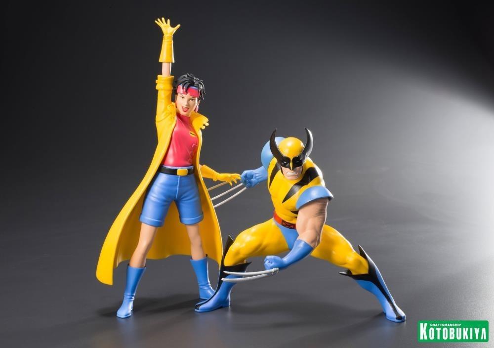 Resultado de imagem para X-Men 92 Wolverine & Jubilee - ArtFX+ Statue