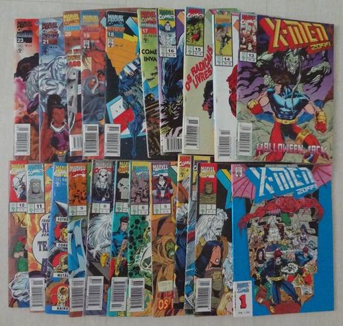 x-men 2099 ano 1994 abril número 01 ao 23 hq gibi completo
