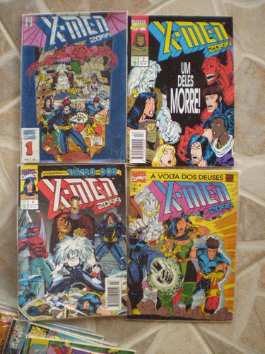 x-men 2099! ed. abril 1994-95! r$ 7,00 cada!