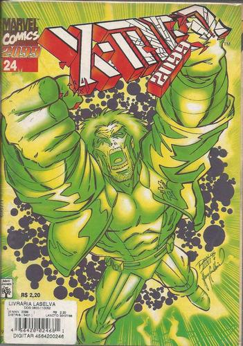 x-men 2099 vol 24 - abril - bonellihq  cx21 c19