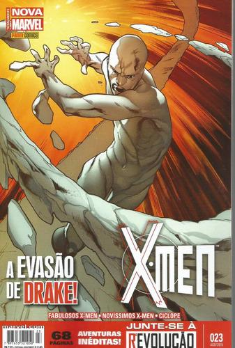 x-men 23 2ª serie nova marvel - panini - bonellihq cx277 d18