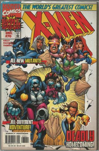 x-men 70 - marvel - bonellihq cx124 l17