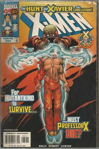 x-men 84 - marvel - bonellihq cx124 l17