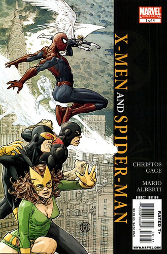 x-men and spiderman # 1 - gage - alberti - inglés
