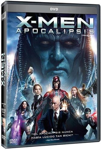 x-men apocalipsis james mcavoy pelicula dvd