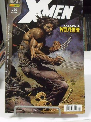 x-men caçada ao wolverine - nº 22