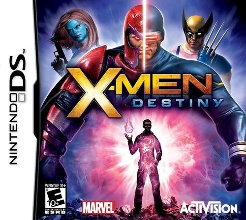 x-men destiny nintendo ds nds marvel original novo lacrado
