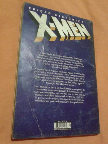 x-men  edição histórica mythos editora