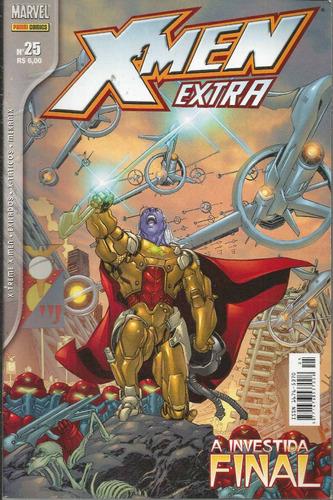 x-men extra 25 1ª serie - panini - bonellihq cx64 f19
