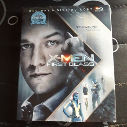 x men first class blu ray importado original 2 discos