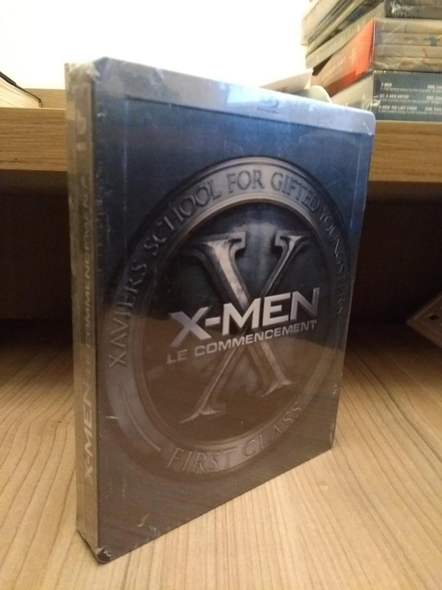 X Men First Class Steelbook Marvel Blu Ray Book Collector