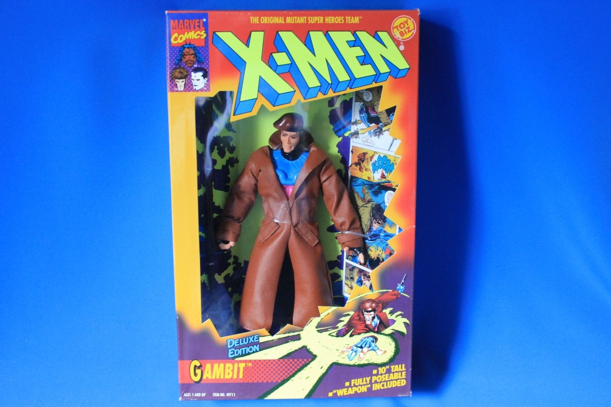 X-men Gambit Deluxe Edition Juguetebiz Marvel 9 Pulgadas