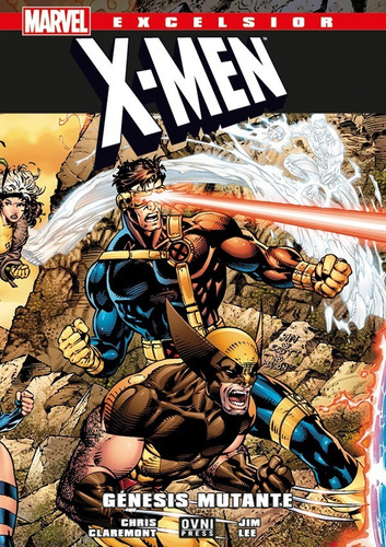 x-men génesis mutante- marvel comics - robot negro