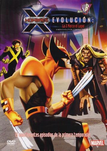 x-men hombres x evolucion la x marca el lugar dvd