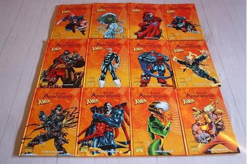 x-men la era de apocalipsis planeta (2003) 12 tomos completa