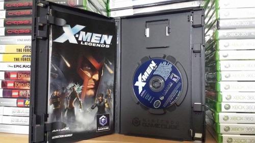 x-men legends - buen estado - gamecube