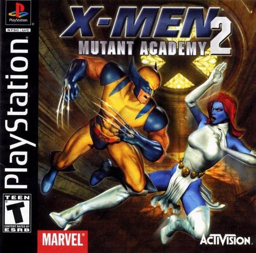 x-men mutant academy 2 ps1 patch