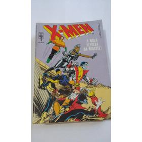 X-men Nº 1 Ao 10 Ed. Abril 1988 - Formatinho