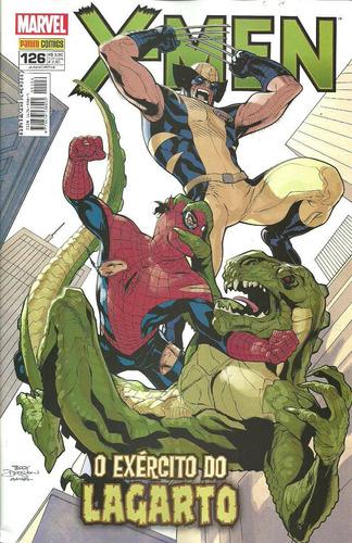 x-men nº 126 - spiderman - panini editora - marvel comics