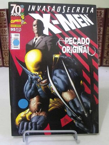 x-men nº95 - invasão secreta - pecado original