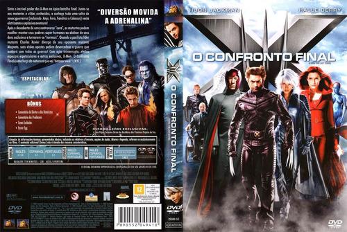 x-men o confronto final dvd lacrado original