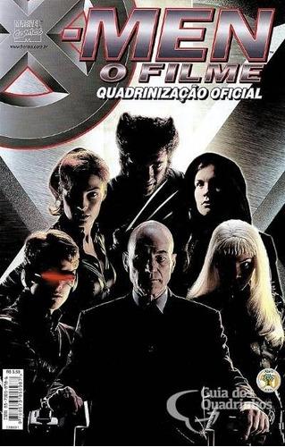 x-men: o filme - quadrinização oficial